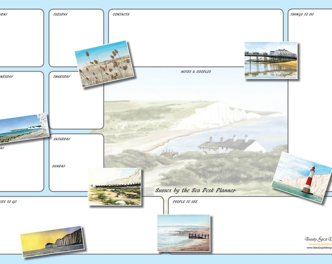 Featured listing image: A3 Sussex by the Sea Desk Planner