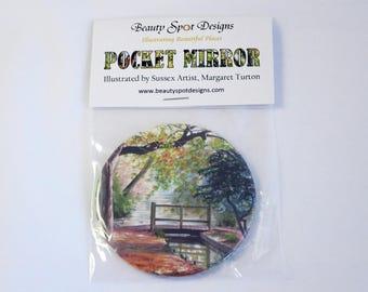 Autumn Colours Pocket Mirror