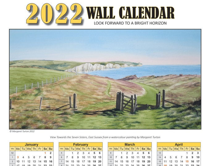 Featured listing image: 2022 Wall Calendar Download