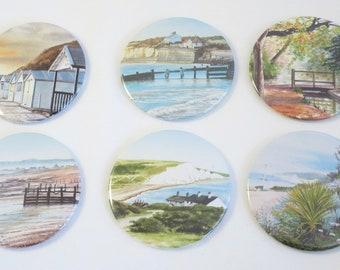 Sussex Scenes Pocket Mirrors, Selfie essential