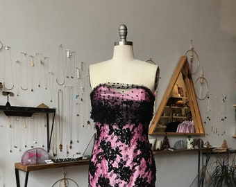 8aebc2f92b Items similar to Strapless Pink Top