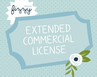 Extended Commerical Use License for Digital Graphics