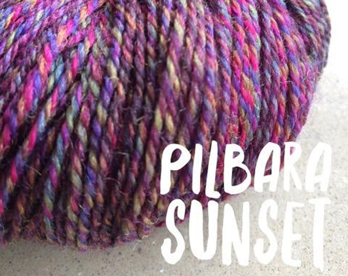 Elements Collection - Col Pilbara Sunset 4 ply supersoft 100% Merino