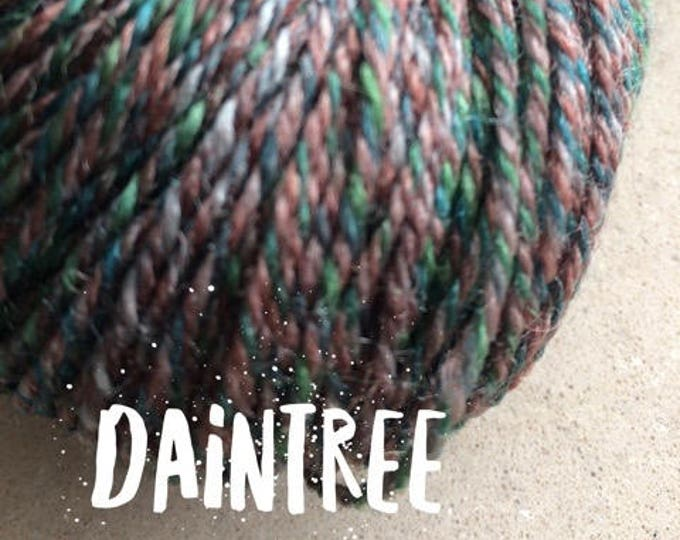 Elements Collection - Col Daintree Green 4 ply supersoft 100% Merino