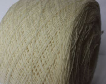 Marle 11.5/2 Pure Wool 100g Col: 104 Natural White