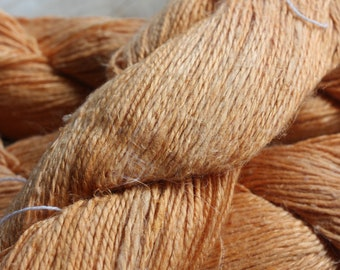 NEW**** - 6/2 Natural Dyed 100% Linen - Golden Yellow