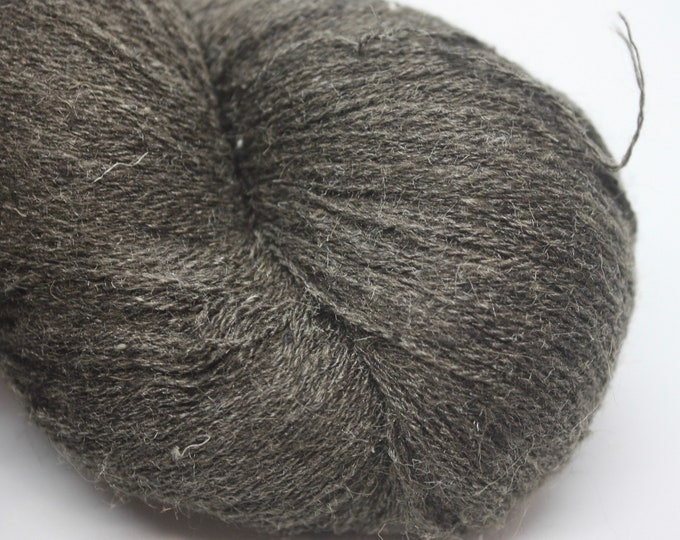 Tussar Peduncle 20/2 Silk Yarn - Dark Brown