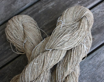 Hand Spun Hemp Yarn