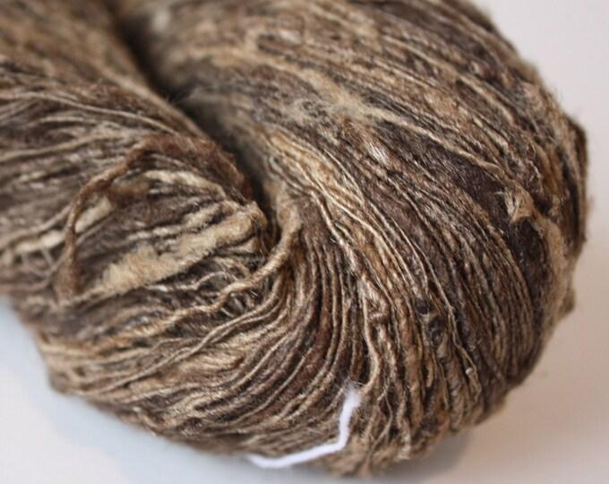 Tassar Handspun Silk Yarn - Fine
