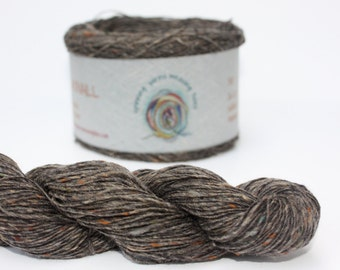 Spinning Yarns Weaving Tales - Tirchonaill 510 Grey 100% Merino 4ply