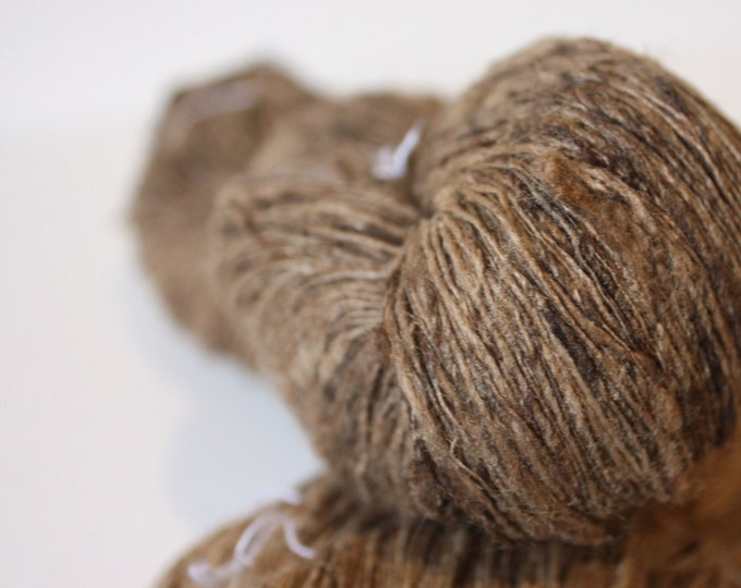 Tassar Handspun Silk Yarn - 1