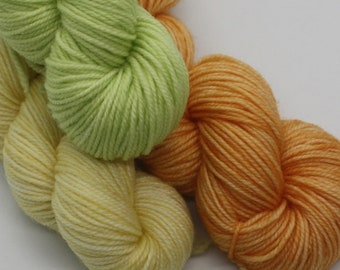 MYOGA - 'Citrus' Baby Skeins - 100g 3 packs