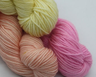 MYOGA - 'Sorbet' Baby Skeins - 100g 3 packs