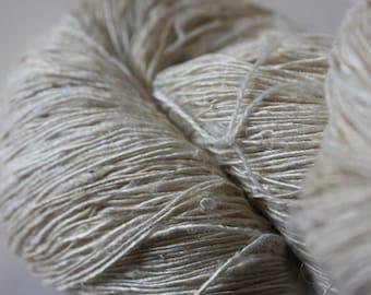Handspun Mulberry Silk Yarn - A - Fine