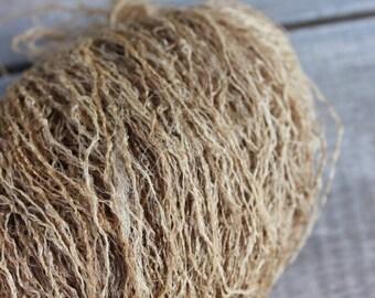 Tussar Ghicha Silk Yarn