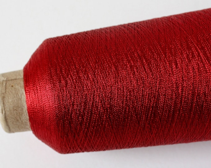 Super Fine Metallic Thread - Red & Ruby