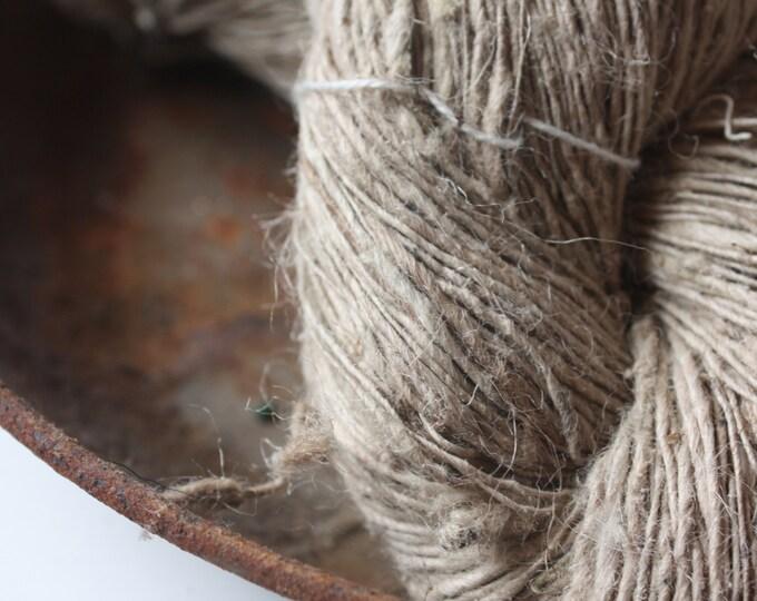 Handspun Nettle Yarn