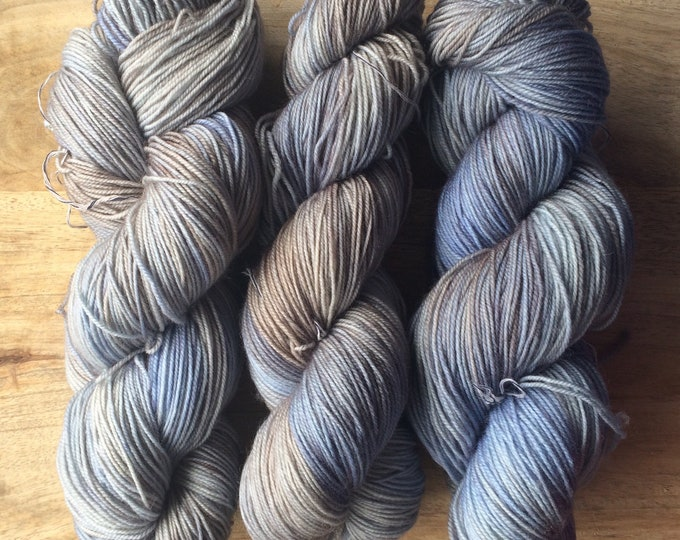 MYOGA Hand Dyed 4ply Superwash -'After the Fog'