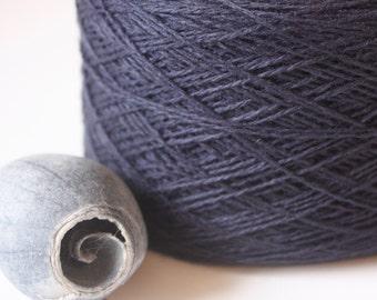 Coastal Col: 47 Bluestone Lambswool-Cotton Blend