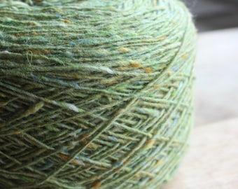 Tirchonaill 550 Green 100% Merino 4ply
