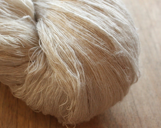 NEW***Eri Handspun Silk Yarn - SuperFine