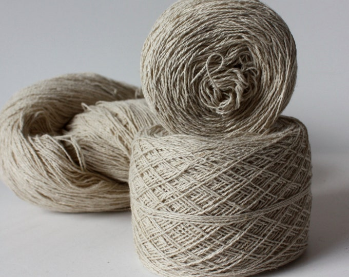 NEW***100% Hemp Yarn - FINE -  Natural UnDyed
