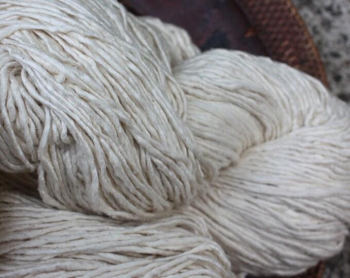 Handspun Mulberry Silk Yarn  - thick