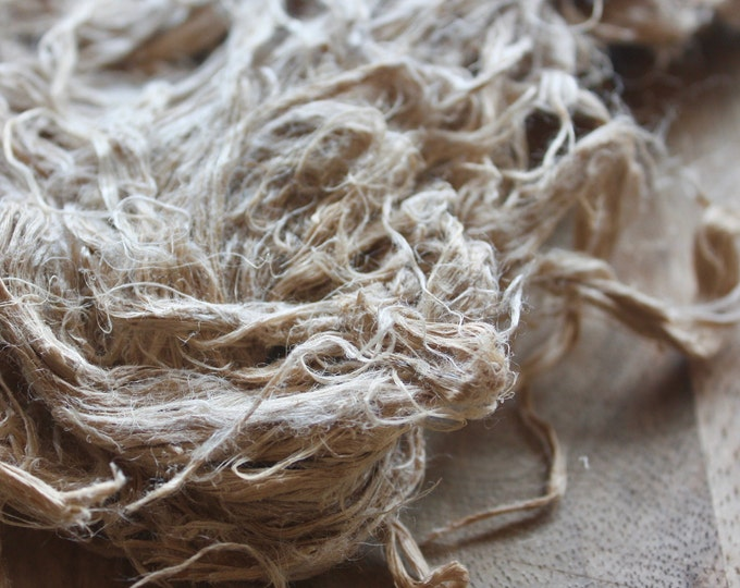 NEW**Raw Hemp Fibre