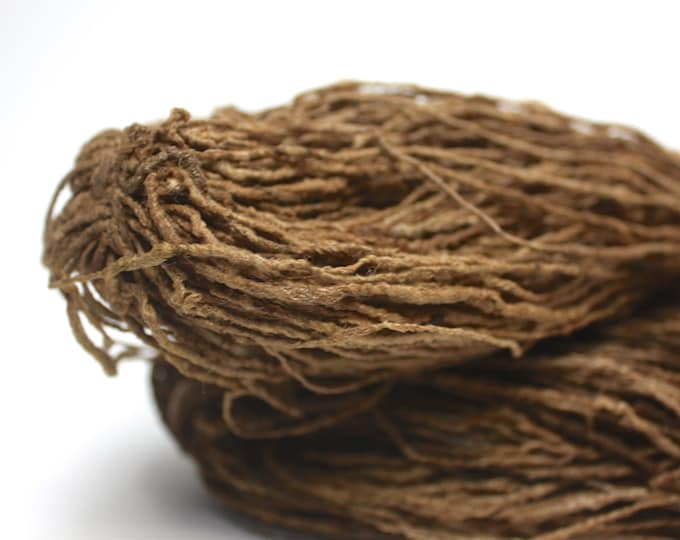 Tassar Handspun Silk Yarn - 3 Thick