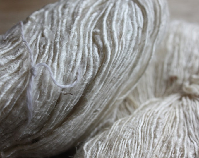 Handspun Mulberry Silk Yarn - B-Med