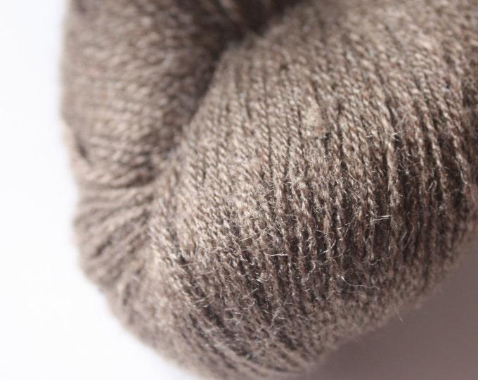 Tussar Peduncle 20/2 Silk Yarn - Med Brown