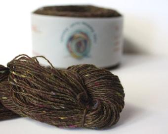 Spinning Yarns Weaving Tales - Tirchonaill 502 Tapenade 100% Merino 4ply