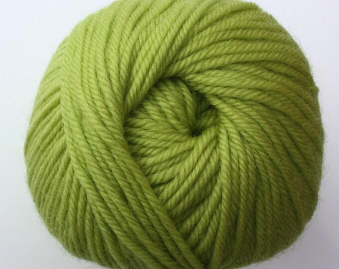 Staples  - 0446 Acid Green 100g  - 100% Merino - 177m/100gm