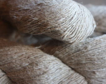 NEW***Handspun Hemp & Cotton Blend Yarn