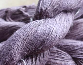 NEW**** - 6/2 Natural Dyed 100% Linen - Lt Purple - Sappanwood