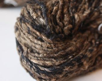 Tussar & Mulberry Chunky Handspun Silk Yarn