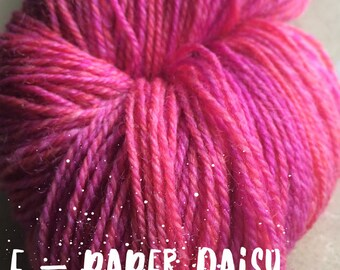 Elements Collection - Col Paper Daisy 4 ply supersoft 100% Merino