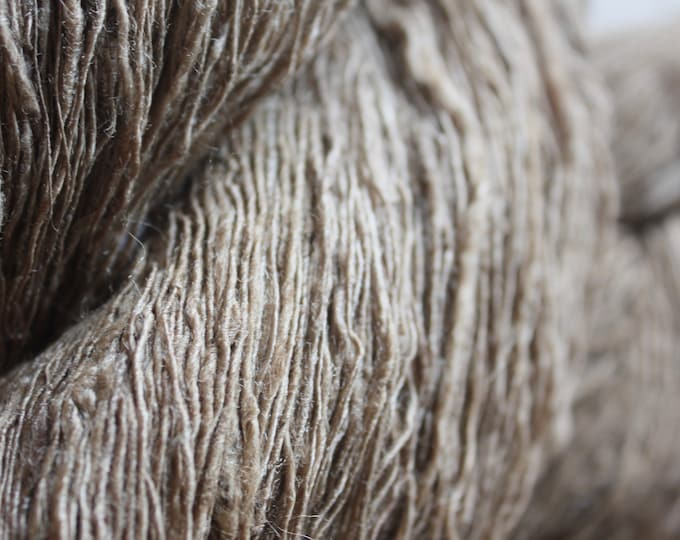 NEW** Light Tussar Handspun Silk Yarn
