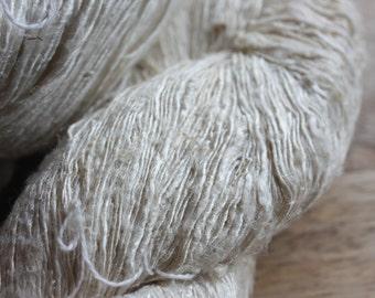 NEW** Handspun Mulberry Silk Yarn - B-Med