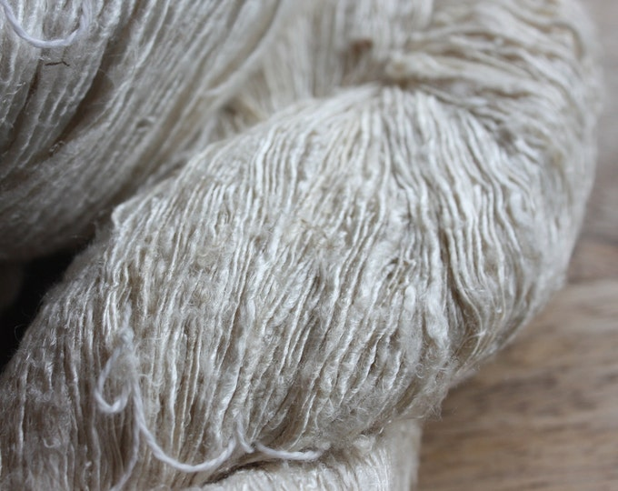 NEW** Handspun Mulberry Silk Yarn - B-Med