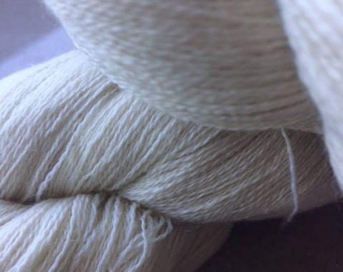 28/2 Pure Wool - Natural undyed