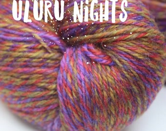 NEW COLOUR - Elements Collection - Col Uluru Nights 4 ply supersoft 100% Merino