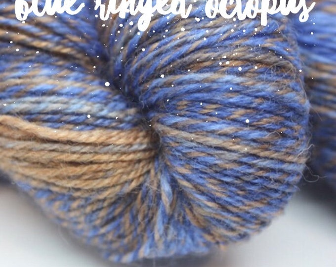 NEW COLOUR - Elements Collection - Col Blue Ringed Octopus 4 ply supersoft 100% Merino
