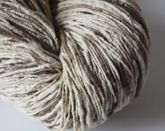 Eri & Tussar Handspun Silk Yarn