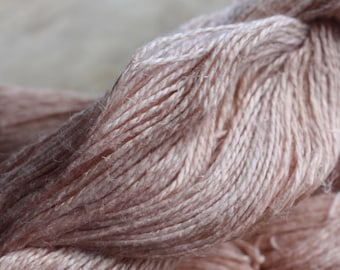 NEW**** - 6/2 Natural Dyed 100% Linen - Light Pink