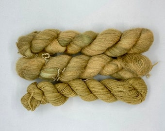 Mimosa Brushed Silk - Marzipan