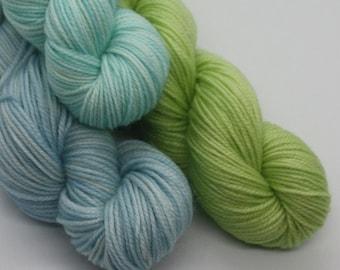 MYOGA - 'Blue Heaven' Baby Skeins - 100g 3 packs