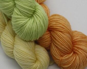 MYOGA - 'Citrus' Baby Skeins - 100g 3 packs