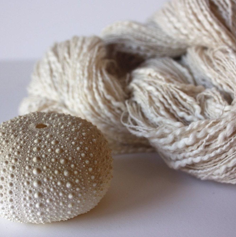 Natural Unbleached 100 Cotton Slub Yarn 3752nm