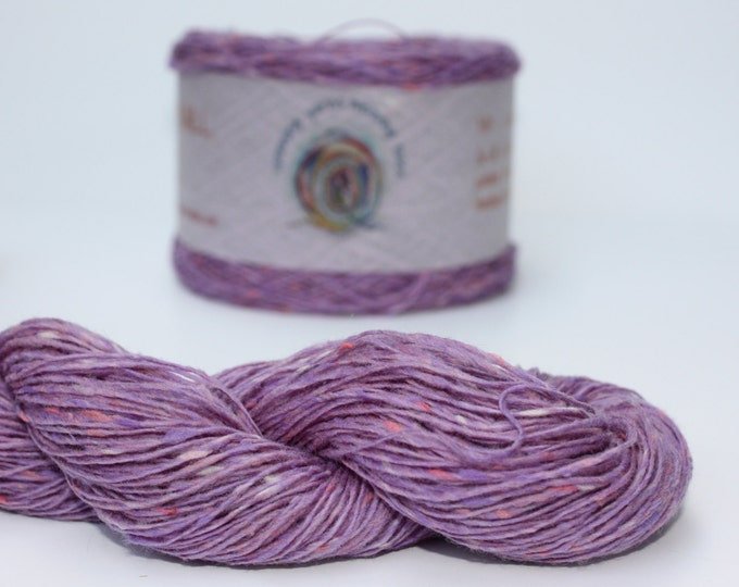 Spinning Yarns Weaving Tales - Tirchonaill 551 Mauve 100% Merino 4ply